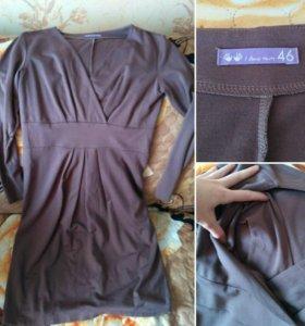 Платье для беременных и кормящих Айлавмам 46