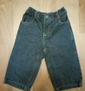 Детские джинсы на 1 годик