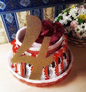 Торт - угощение 🎂 для детского садика