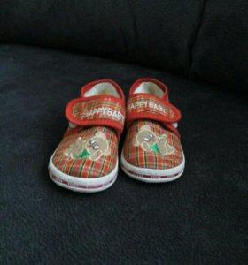 Детские ботиночки р-р 20