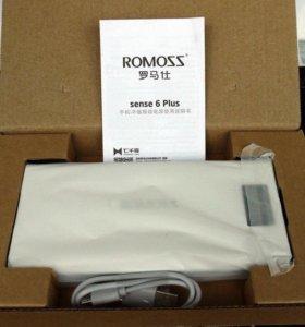 Romoss sense 6 Plus 20000 mAh powerbank акб