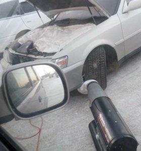 Отогрев авто