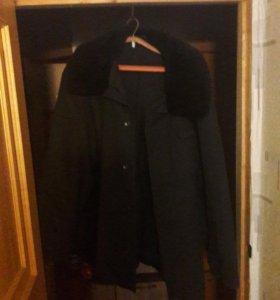 Мужское рабочее зимнее пальто,состояние хорошее