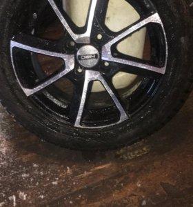 летние колёса на литых дисках 15 R