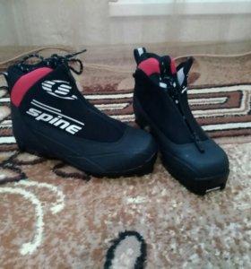 Ботинки лыжные утеплённые