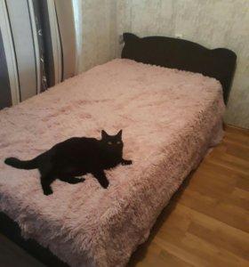 Кровать полутороспальная с матрасом