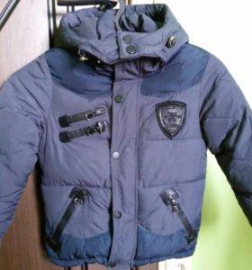 Куртка утепленная для мал. 116 рост