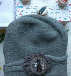 Новая шерстяная шапочка MASCOTTE