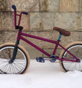 Bmx бмх custom brakeless велосипед