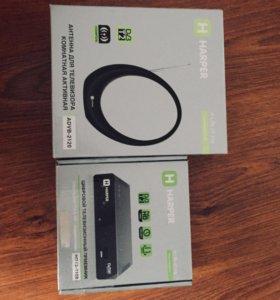 Цифровой приёмник HDT2-1108 + в подарок Антенна