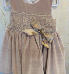 Платье на годик-полтора
