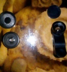 Линзы для камеры телефона
