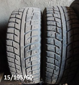 Две пары шин R15/195/60 и 205/65