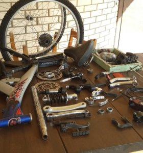 Разные велозапчасти