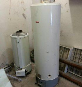 Газовые котел и водонагреватель