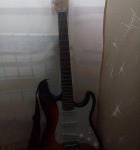 Гитара tenson+усилитель Marshall