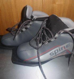лыжные ботинки детские 33 размер