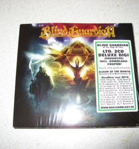 """Blind Guardian """"AT the Edge of Time"""" LTD"""