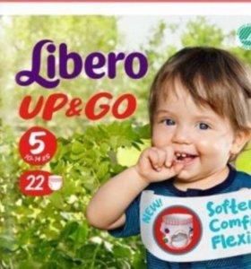 Libero up-go трусики памперсы подгузники новые