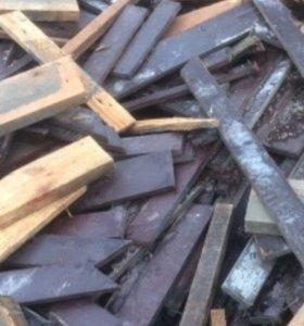Фанера обрезки на дрова