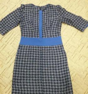 Продам теплое платье сшито на заказ