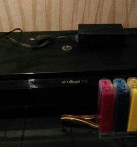 Принтер цветной НР 7110