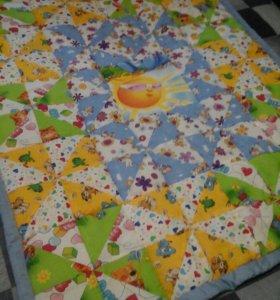 Пошив детских одеял в стиле пэчворка