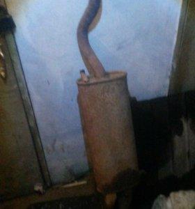 Глушитель ваз 2112