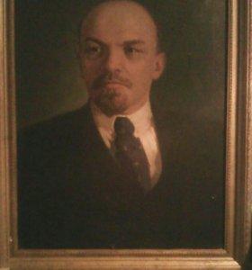 Реликвия,картина В.И.Ульянова на холсте маслом.