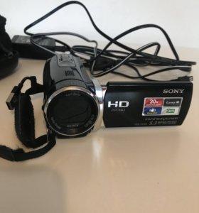 Видеокамера Sony HD hdr-cx190