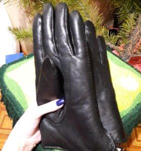 Новые мужские кожаные перчатки UGG