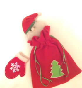 Новогодняя упаковка для подарков :)