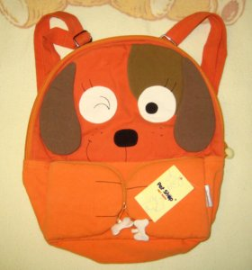 Рюкзак детский с собачкой новый