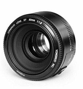 Объектив YONGNUO EF 50 мм f/1.8 AF