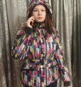 Куртка яркая модная