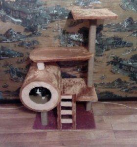 Домик для кошки!)