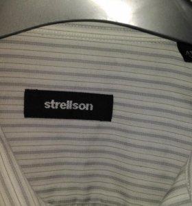 Рубашка оригинал Strellson комфорт ткань качество