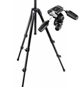 Штатив Manfrotto 055XDB и голова 804RC2