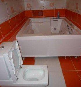 Косметический Ремонт   ванной от   Мастера