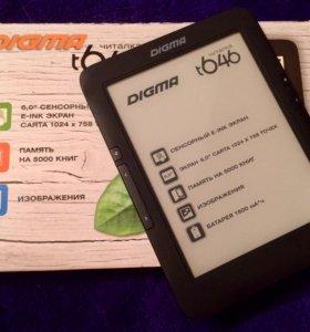Электронная книга Digma T646 + чехол в подарок