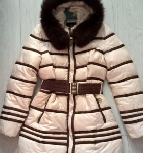 Тёплое пальто на синтепоне