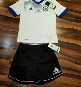 Новая спортив.футболка и шорты Adidas 128 и 140 р.