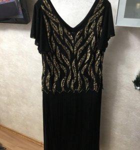 Платье вечернее р 54