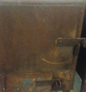 Печка для гаража бани дачи
