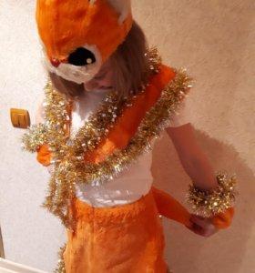Новогодний костюм для девочки 7-9 лет
