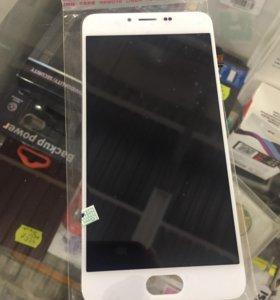 Дисплей meizu M5 с тачскрином