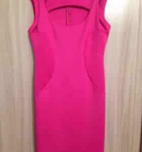Платье розовое( новое)