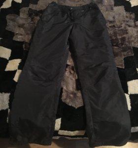 Болоньевые, зимние, женские штаны.42-44р. Демикс.
