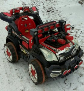 Электромобиль детский Jeep Racing