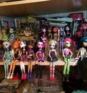 Игрушки- куклы Monster High